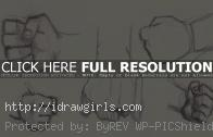 How to draw fist 5 different ways