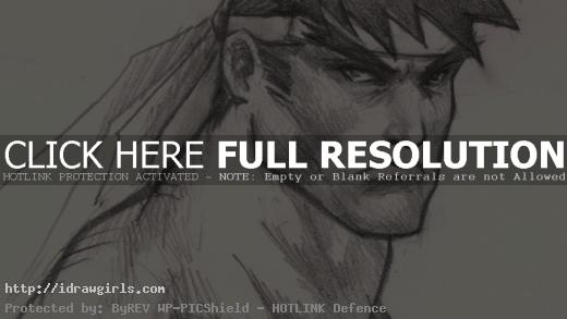how to draw man face for comics hero