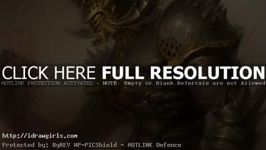 Manga character design creature titan