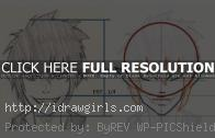 How to draw Manga Rin from Blue Exorcist