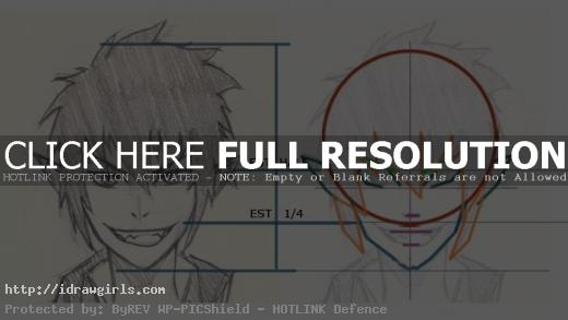 How to draw Rin blue exorcist