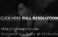 Draw face side view Samus Aran