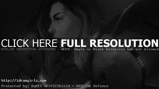 Samus Aran Metroid drawing