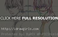 How to draw Manga Light Yagami