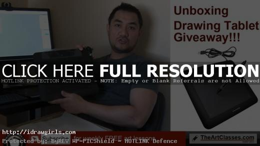 giveaway-unboxing-huion-tablet-april-2016
