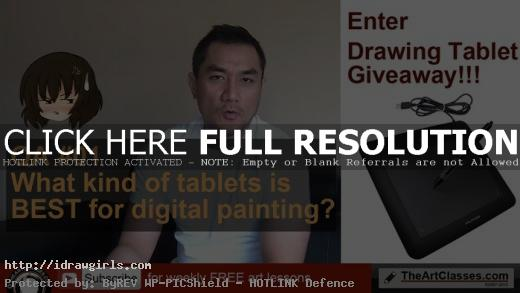 what kind of tablet is best for digital painting
