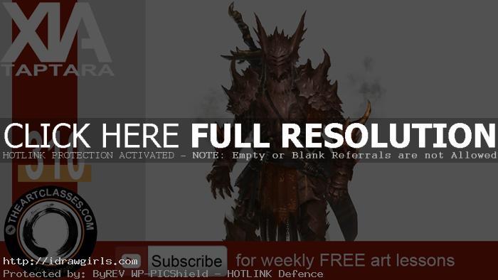 character-design-knight-dragon