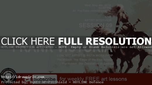 frank victoria the hobbit concept artist