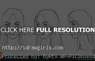 Basic female portrait drawing video tutorial