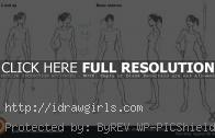 Basic stances and poses drawing