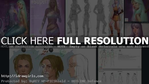 June 2016 digital painting video tutorial on Gumroad