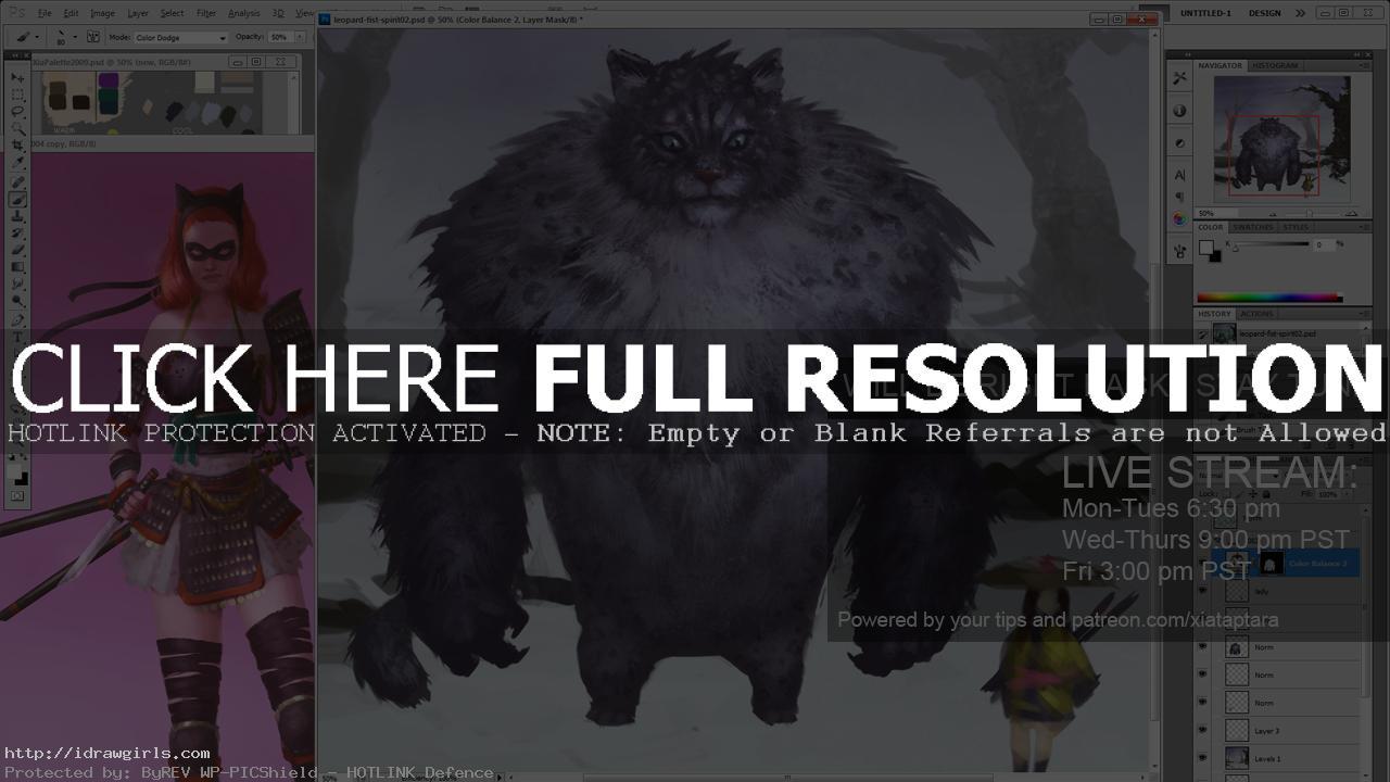 Digital illustration tutorial