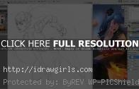 Drawing Overwatch Widowmaker