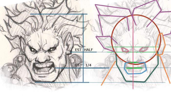 akuma drawing How to draw Akuma Street Fighter