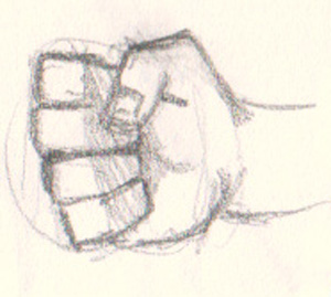 drawing fist How to draw fist 5 different ways