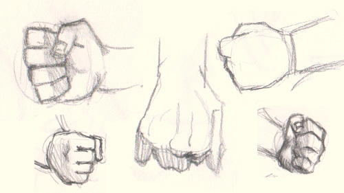how to draw fists How to draw fist 5 different ways