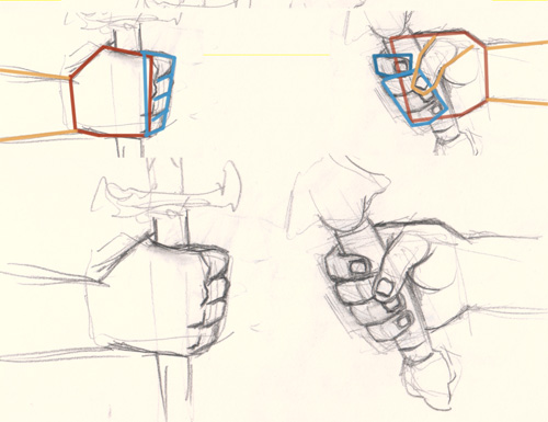 how to draw hand holding sword How to draw hand holding sword