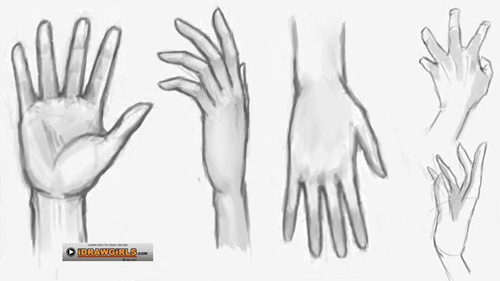 how to draw hand How to draw hand