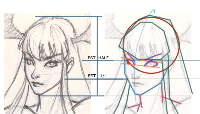 morrigan drawing break down How to draw Morrigan Dark Stalkers