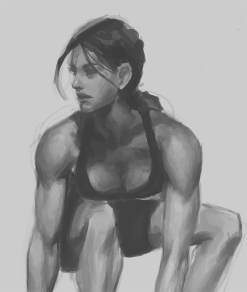 female figure study