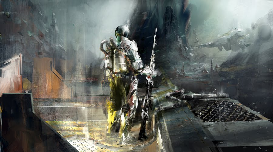 concept art richard anderson, moon-patrol