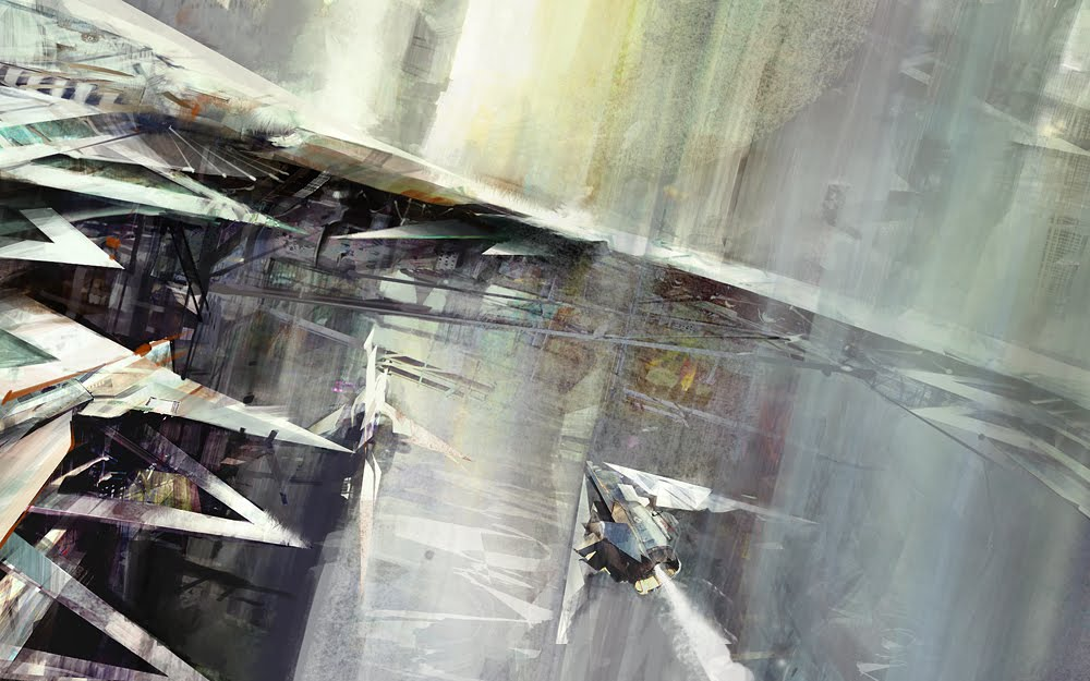 concept art richard anderson triangles Richard Anderson master artist interview