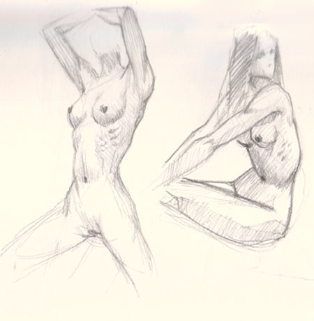 woman figures drawing tutorial