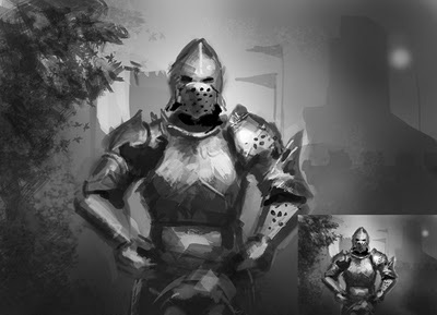 painting metal armor How to paint metal armor