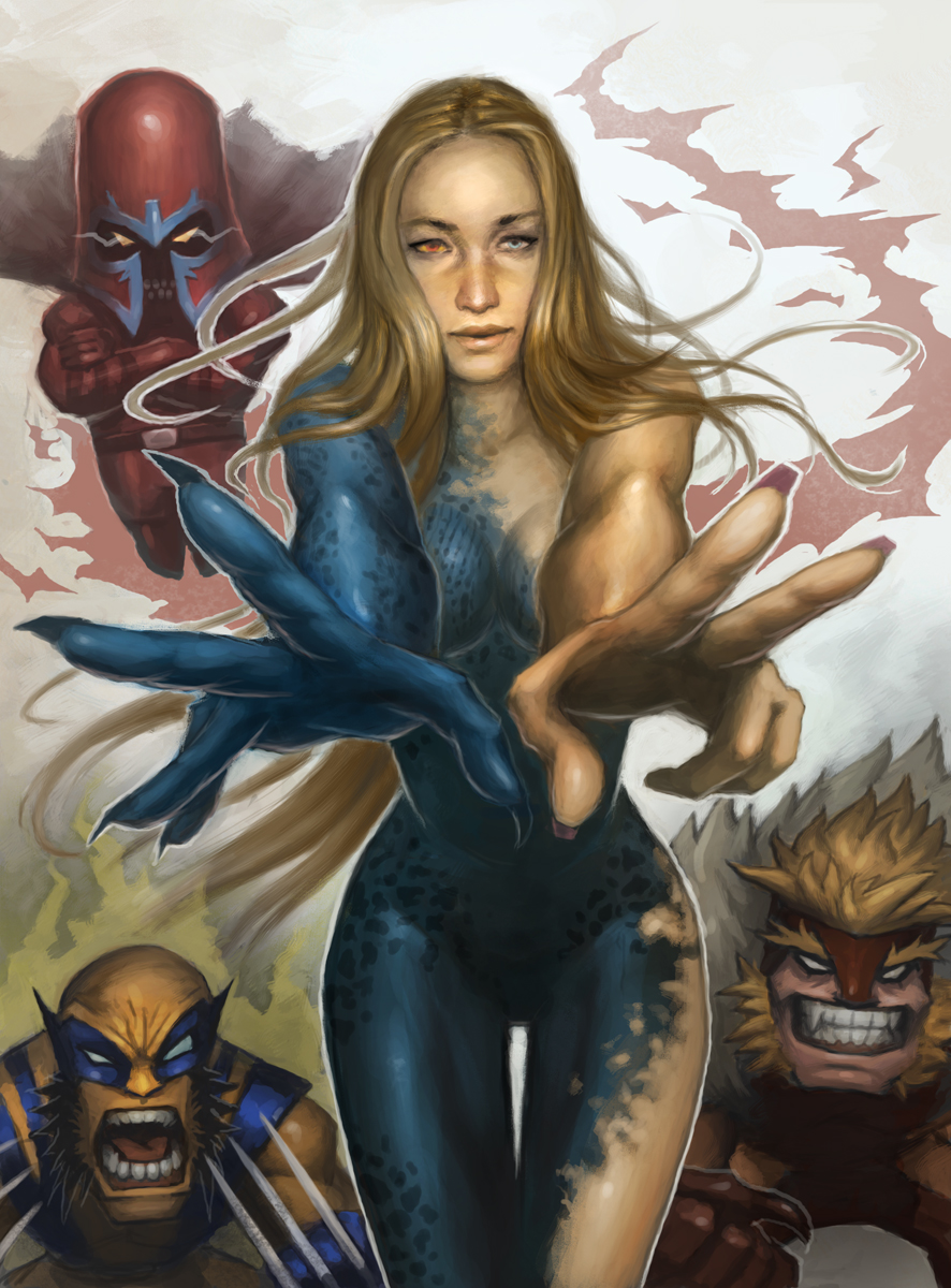 Mystique x men first class