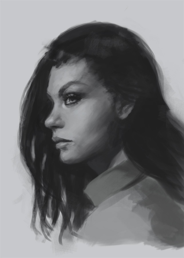 draw portrait profile
