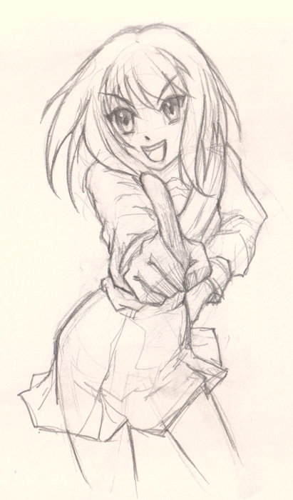 how to draw manga How to draw Anime Girl foreshortening hand