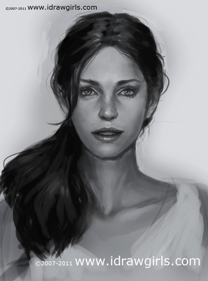 learn portrait drawing