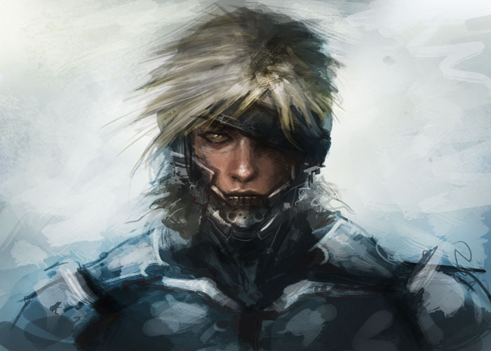 raiden rising metal gear How to paint Metal Gear Solid Raiden