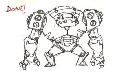 draw robot tutorial How to draw basic robot