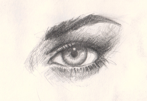drawing eye tutorial
