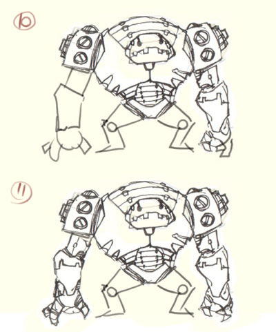 how to draw robot step3 How to draw basic robot