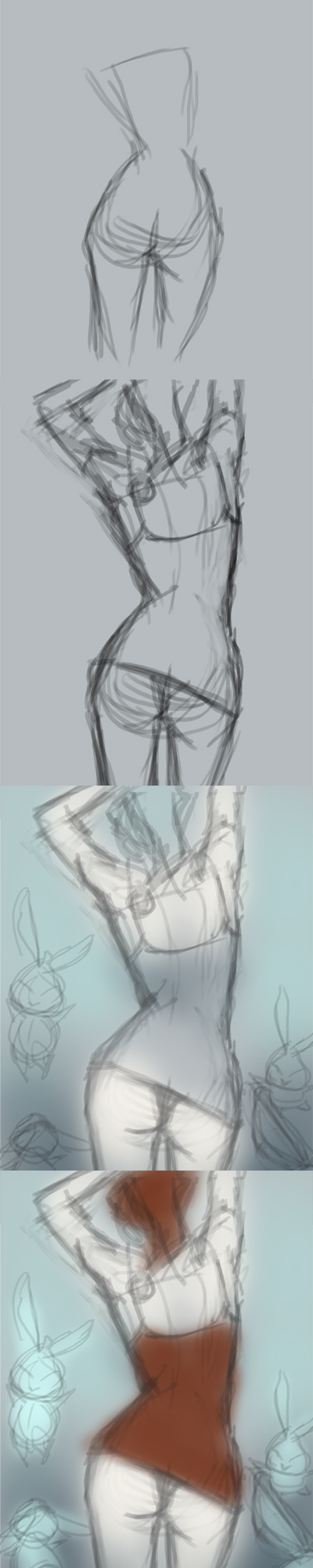 learn to draw female figure