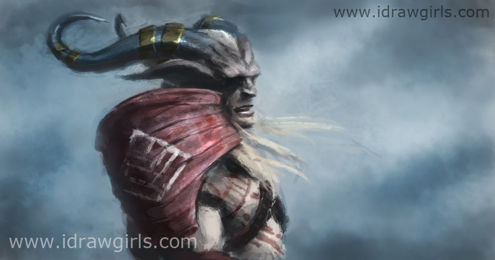 dragon age 2 speedpaint study Dragon age 2 digital painting tutorial