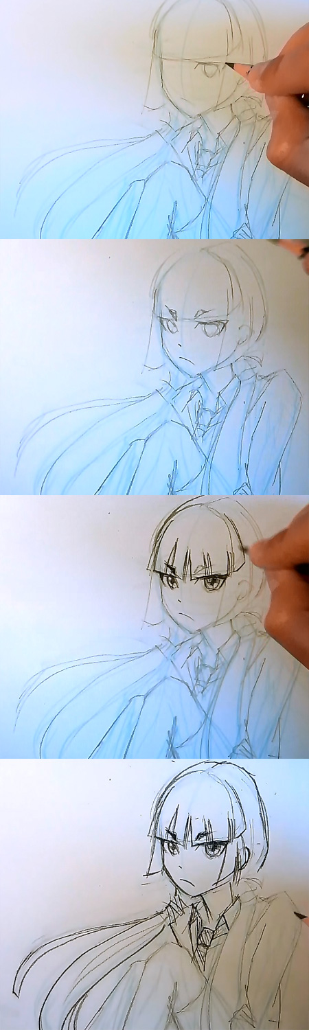 draw manga izumo blue exorcist part 2 How to draw Manga Izumo Blue Exorcist