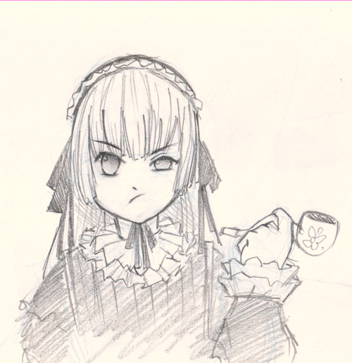 draw victorique from gosick How to draw Manga Victorique