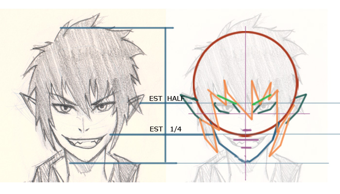 rin blue exorcist manga drawing break down How to draw Manga Rin Blue Exorcist