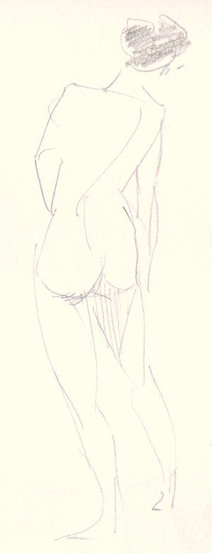 one minute life drawing