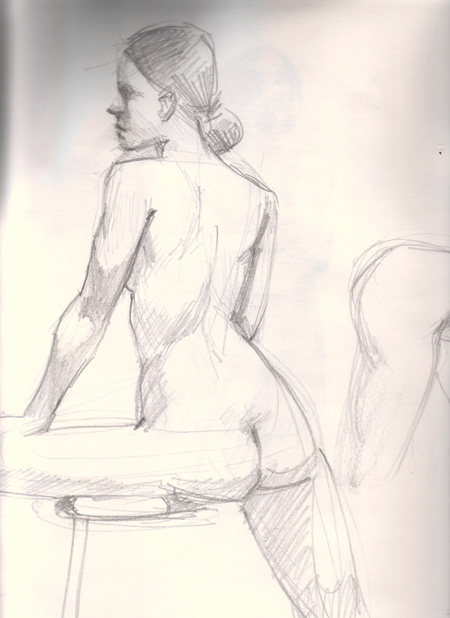 figure drawing 5-10 minutes poses