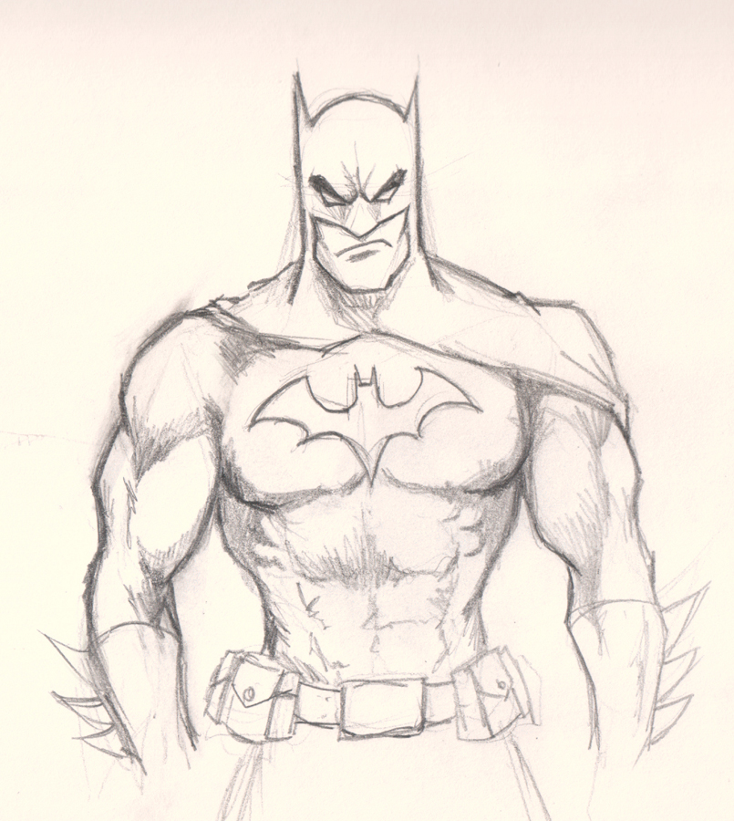batman drawing tutorial How to draw Batman