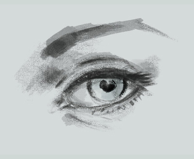 draw basic eye