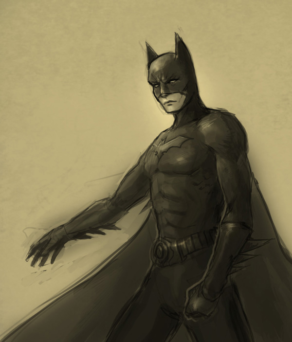 drawing batman How to draw Batman
