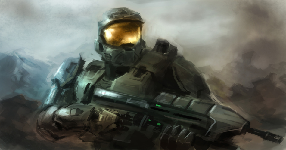 master chief painting tutorial How to paint master chief Halo