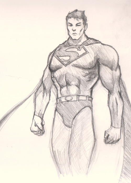 superman drawing How to draw Superman