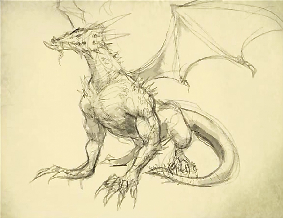drawing dragon body How to draw a dragon
