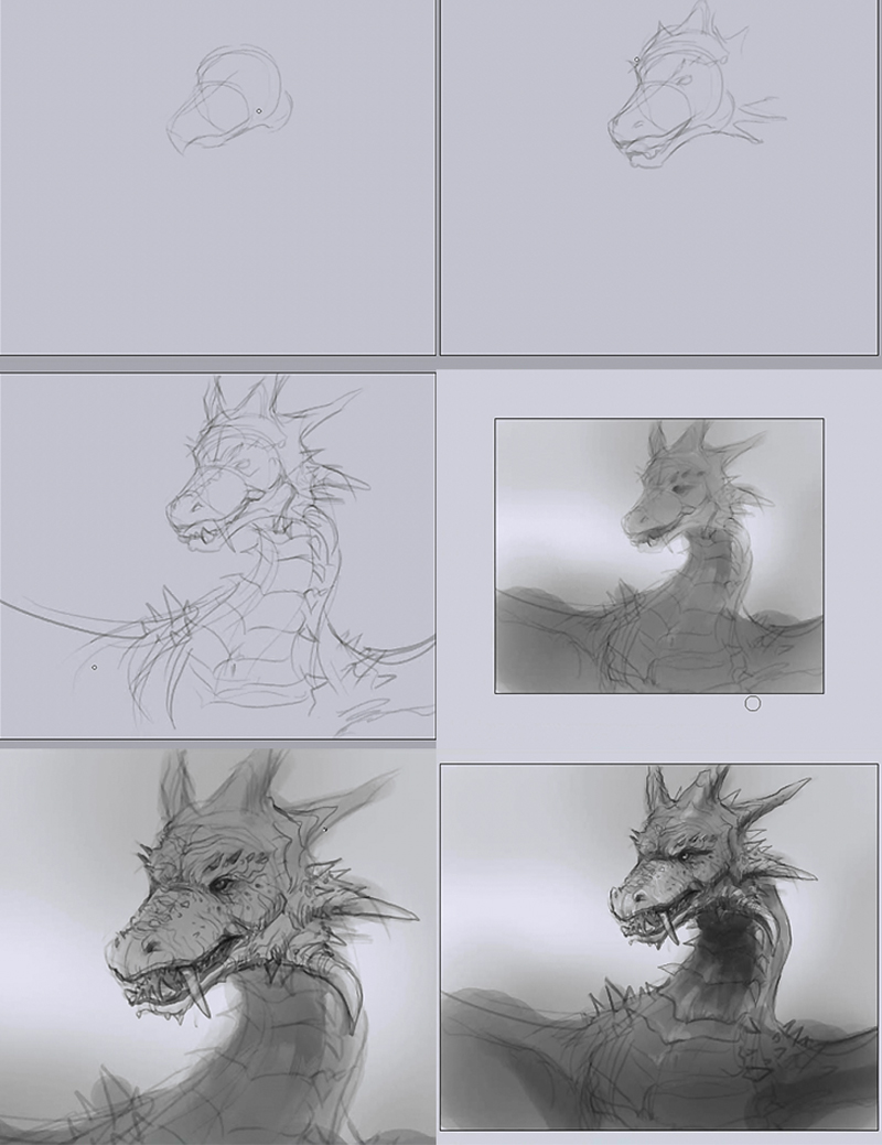 how to draw fire dragon How to draw fire dragon